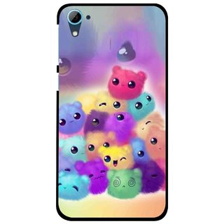 Snooky Printed Cutipies Mobile Back Cover For HTC Desire 826 - Multi