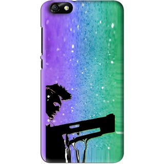 Snooky Printed Sparkling Boy Mobile Back Cover For Huawei Honor 4X - Multi
