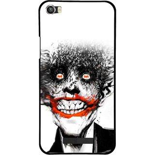 Snooky Printed Joker Mobile Back Cover For Lava Iris X8 - Multi