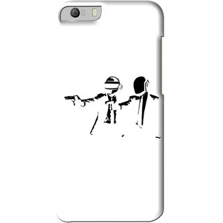 Snooky Printed Gangster Mobile Back Cover For Micromax Canvas Knight 2 E471 - Multi