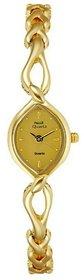 Hwt Golden Oval Dial Watch for women's
