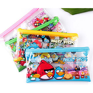 Buy Cartoon Designs Pencil Pouch Pack 0f 25 For Kids Birthday Party