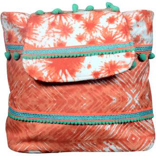 Orange Peach Back Pack