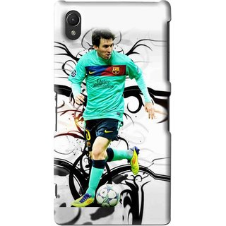 Snooky Printed Football Champion Mobile Back Cover For Sony Xperia Z2 - Multi