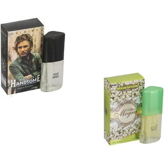 My Tune Set of 2 Hello Handsome 20ml-Attar Mogra 20ml Perfume