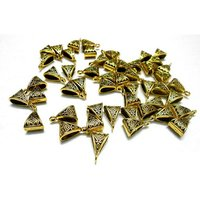 Antique gold bails for  jewelry Making , 50 pcs , first quality