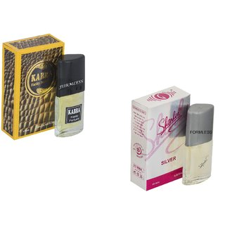 Combo Kabra Yellow 20ml-Sharlin silver 20ml perfume