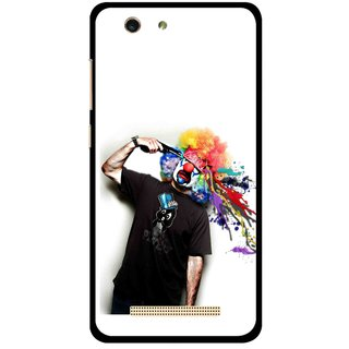 Snooky Printed Shooting Joker Mobile Back Cover For Gionee F103 pro - Multi