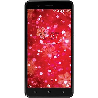 Intex Aqua Crystal Plus (2 GB,16 GB,Black)