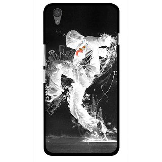 Snooky Printed Dance Mania Mobile Back Cover For One Plus X - Multi