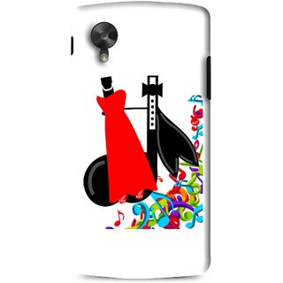 Snooky Printed Fashion Mobile Back Cover For Lg G5 - Multi