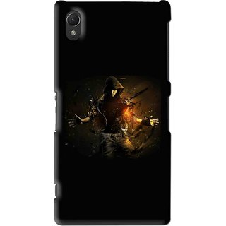 Snooky Printed Dancing Boy Mobile Back Cover For Sony Xperia Z2 - Multi
