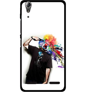 Snooky Printed Shooting Joker Mobile Back Cover For Lenovo A6000 - Multi