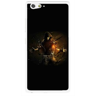 Snooky Printed Dancing Boy Mobile Back Cover For Gionee Elife S6 - Multi