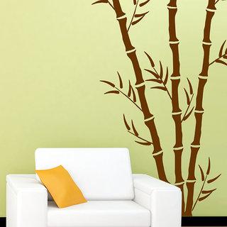 Arhat Stencils Glossy PVC BAMBOO Wall Stencils E-127