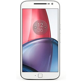 Motorola G4 Plus (3 GB,32 GB,White)