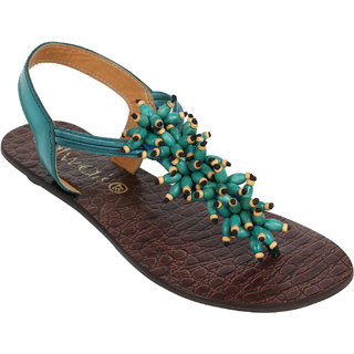 b9e3cbd23 Buy Catwalk Women Turquoise Sandals Online - Get 61% Off