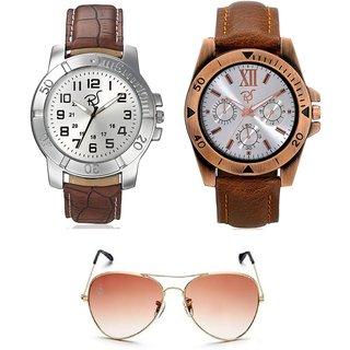 ea8386959ac Buy Rico Sordi Brown UV Protection Aviator Men s Sunglasses Online - Get 65%  Off