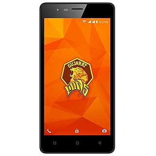 Intex Aqua Lions 4G (1 GB,8 GB,Black - Grey)