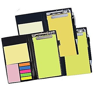 COI Memo neon/yellow and lemon green note pad organiser/memo notebook holder booklet block notes for making check list for office and gifting purpose with tear off sheets with free pen ( set of 3)