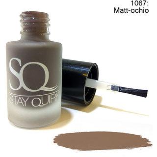 Stay Quirky Nail Polish Matte Effect Pastel Matt-ochio 1067 (6 ml)