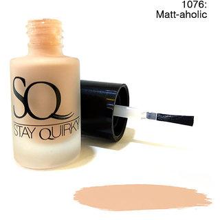 Stay Quirky Nail Polish Matte Pastel Matt-aholic 1076 (6 ml)