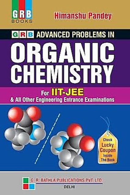 Buy GRB ADVANCE PROBLEMS IN ORGANIC CHEMISTRY FOR JEE ( MAINS