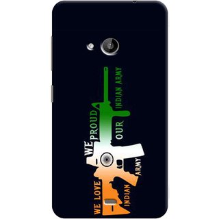Microsoft Lumia 535 Silicone Back Cover