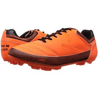 Vector X Orange/Black Football Shoes
