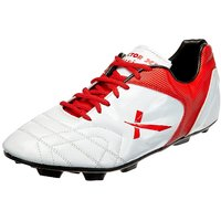Vector X Red/White Football Shoes