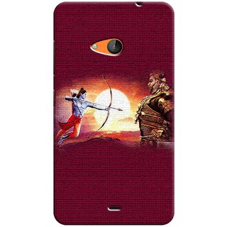 Sketchfab Latest Design High Quality Printed Soft Silicone Back Case Cover For Microsoft Lumia 540