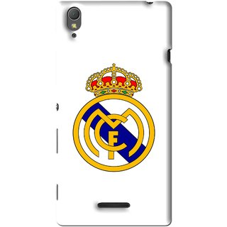 Snooky Printed Sports Logo Mobile Back Cover For Sony Xperia T3 - Multi