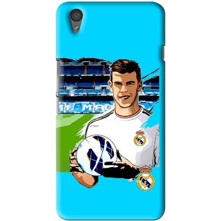 Snooky Printed Football Champion Mobile Back Cover For One Plus X - Multi