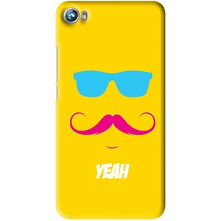 Snooky Printed Yeah Mobile Back Cover For Micromax Canvas Fire 4 A107 - Multi