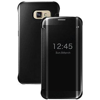 59ba461bd362 Buy Samsung Galaxy A7 (2016) Mirror Flip Cover by RKR - BLACK Online ...