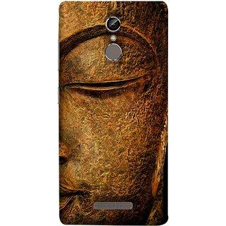 FUSON Designer Back Case Cover For Gionee S6 (Gautam Buddha Statue Scenary Lord Siddharth)