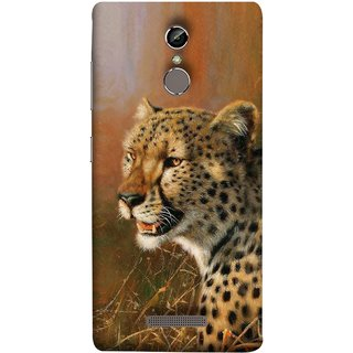 FUSON Designer Back Case Cover For Gionee S6 (Jungle King Stearing Angry Roaring Loud Aslan Panther)