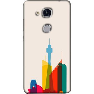 FUSON Designer Back Case Cover For Huawei Honor 5c :: Huawei Honor 7 Lite :: Huawei Honor 5c GT3 (Industrial Best Wallpaper Design India America Asia Uae)
