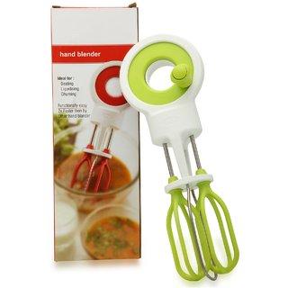 bartanshopee Stylish Power Free Hand Blender In Attractive Design(Green  White)