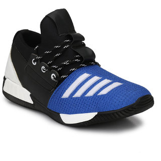Prolific Mens Blue Lace-up Sneakers
