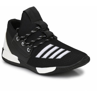 Prolific Mens Black Lace-up Sneakers