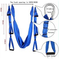 Aerial Yoga Swing Sling Hammock Trapeze Inversion Tool with Accessories