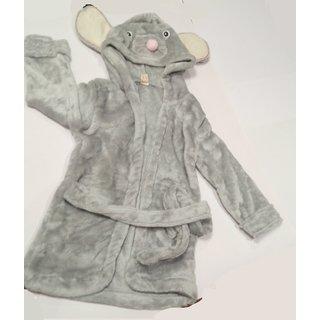 Mouse baby bathrobe imported hooded bathrobe