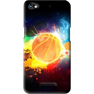 Snooky Printed Paint Globe Mobile Back Cover For Micromax Canvas Hue 2 - Multi