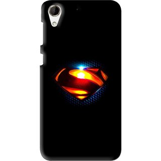 Snooky Printed Super Hero Mobile Back Cover For HTC Desire 728 - Multi