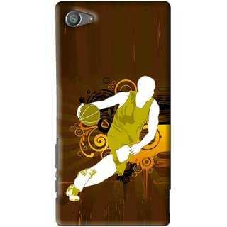 Snooky Printed Chamoins wins Mobile Back Cover For Sony Xperia Z5 Compact - Multi