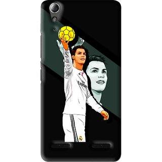Snooky Printed I Win Mobile Back Cover For Lenovo A6000 Plus - Multi