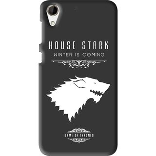 Snooky Printed House Stark Mobile Back Cover For HTC Desire 728 - Multi