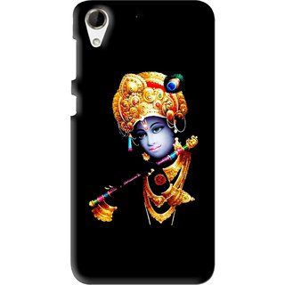 Snooky Printed God Krishna Mobile Back Cover For HTC Desire 728 - Multi