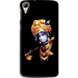 Snooky Printed God Krishna Mobile Back Cover For HTC Desire 828 - Multi